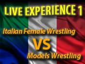 Italian Female Wrestling Live Experience